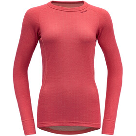 Devold Duo Active T-shirt Femme, poppy